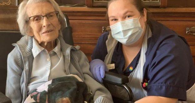 Connie Titchen, Britain's oldest coronavirus survivor